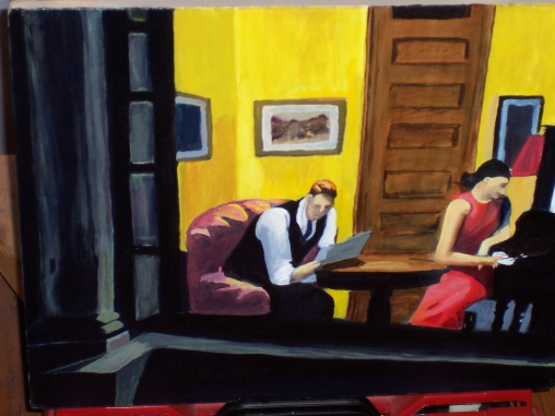 Edward Hopper © Room in New York